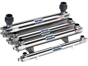 UV-C Stainless Steel 40 Watt Input, LED, 125 PSI, 1.5-inch